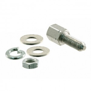 DSUB SCREW-LOCK FE UNC/M3 13mm NI